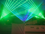 Mixed laser show